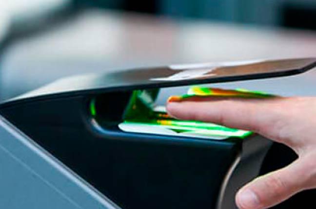 sistema de segurança por biometria