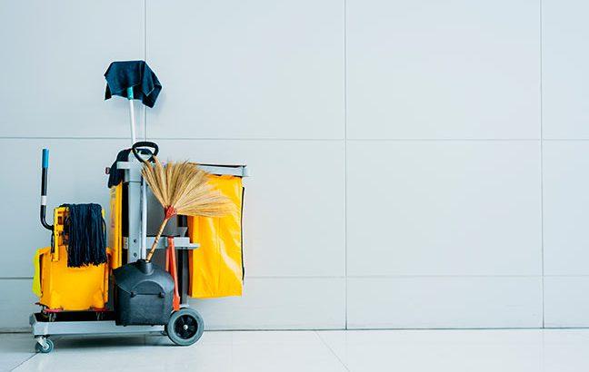 materiais para limpeza profissional